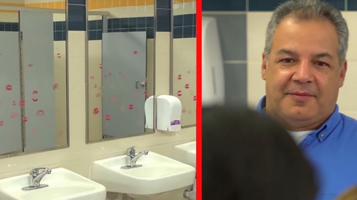 Школьницы издевались над уборщиком туалетов… Но он очень красиво им отомстил!