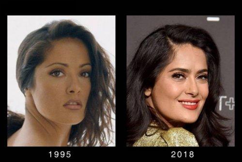 Голливудские знаменитости тогда и сейчас