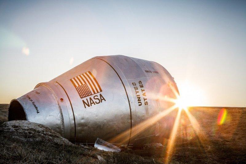Найден космический корабль НАСА