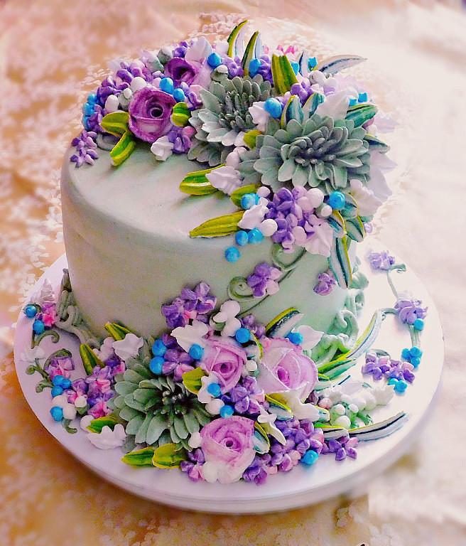 чувство, что цветочный торт картинки ведь этот французский