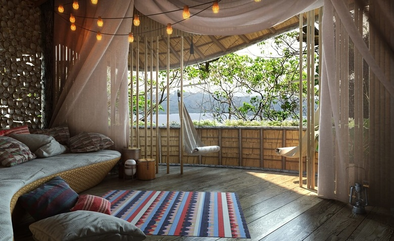 Эко-отель на какао деревьях
