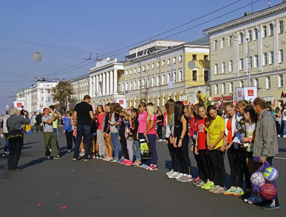 В Якутске на «Кроссе нации» из-за давки пострадали десятки детей
