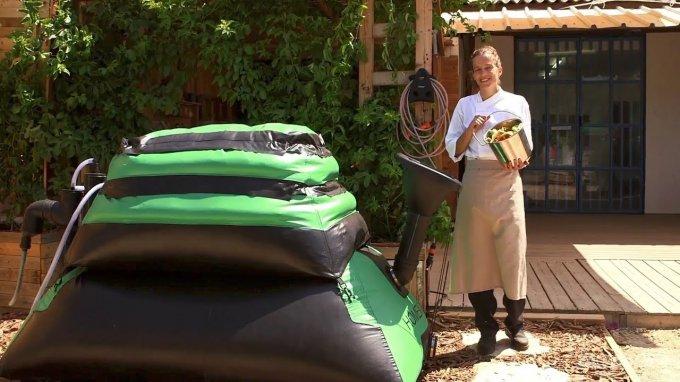 """Домашний """"завод"""" по производству биогаза из органического мусора"""