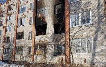При взрыве в пятиэтажке в Раменском частично обрушилась несущая стена