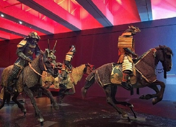 Доспехи самураев доспехи, рыцари, средневековье