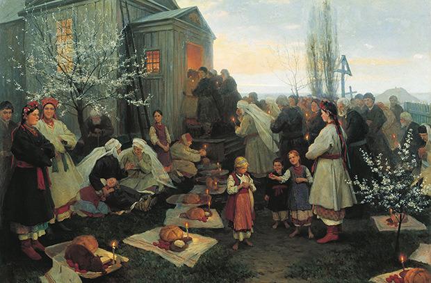 От Христовой Заутрени до Красной горки