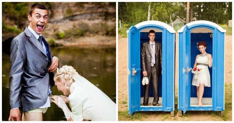 Сумасшедшие свадебные фотографии