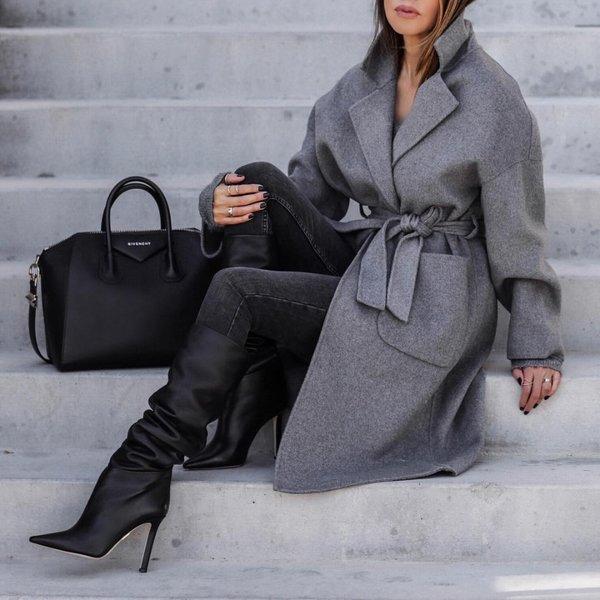 Выбираем пальто, чтобы выгля…