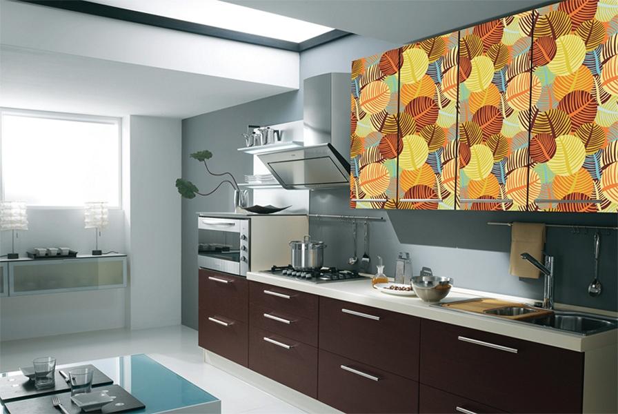 картинки варианты оклейки кухни
