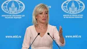 Мария Захарова «прошлась катком» по американскому истеблишменту новости,события,новости,политика