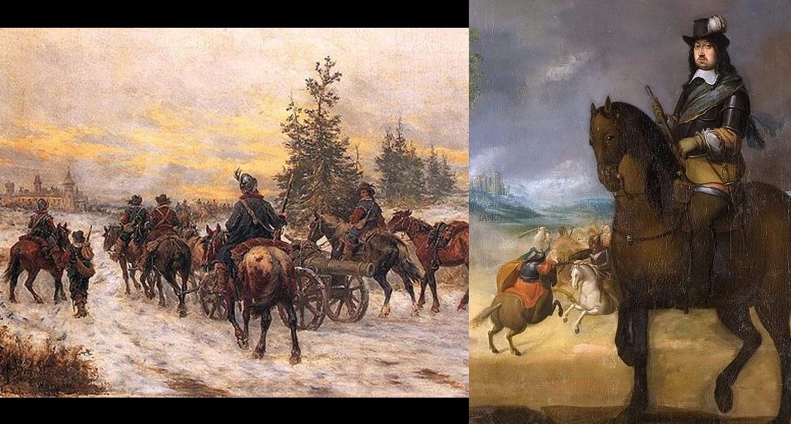 Битва при Варке 1656 года. Как польская шляхта сумела впервые побить шведских рейтаров и мушкетеров история