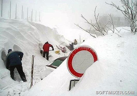 Погодные аномалии в истории России