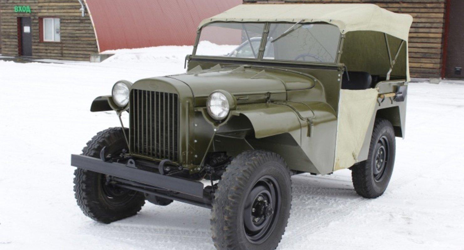 В музее Новосибирска появился военный ГАЗ-64 1941 года выпуска Автомобили