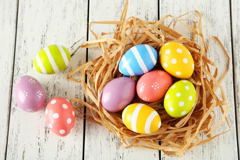 Как покрасить пасхальные яйца рисом покраска яиц,рукоделие,своими руками,умелые руки