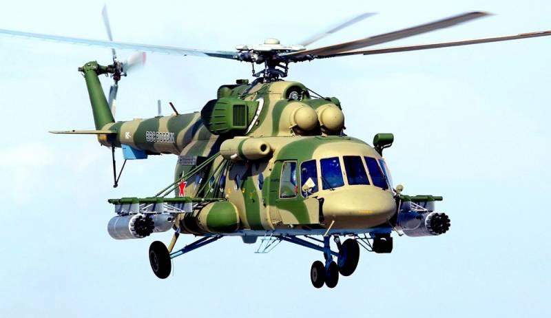 Злой рок преследует российскую армию: разбился Ми-8