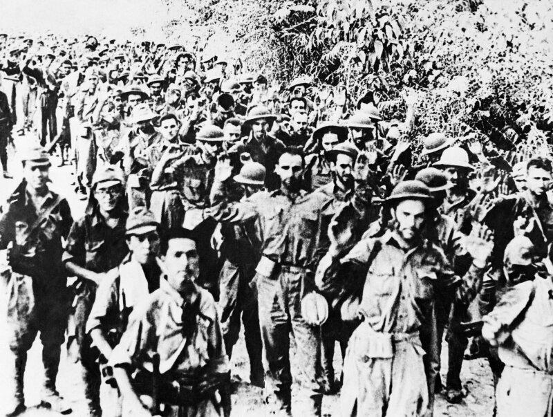 """Фото самого """"Батаанского марша смерти"""" #Фотографии, #история, #факты, .война"""