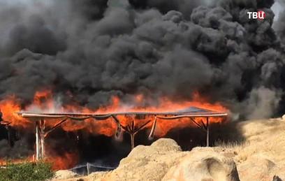 Пожар в Перу уничтожил фреску возрастом две тысячи лет