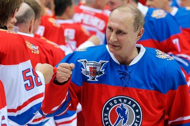 Поздравление сборной России по хоккею с победой на Олимпиаде в Пхёнчхане
