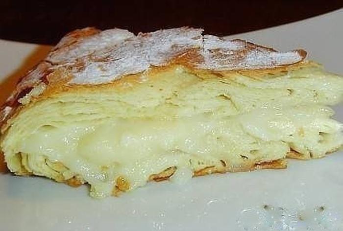 Фытыр. Египетский пирог с кремом. Супер вкусный пирог с заварным кремом
