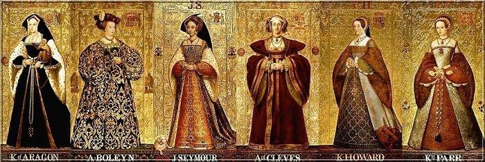 Шесть жен Генриха VIII доспехи, рыцари, средневековье