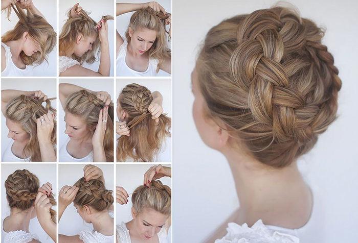 10 причесок на длинные волосы для женщин среднего возраста. Пошаговый гид волосы,красота,мода и красота,прически