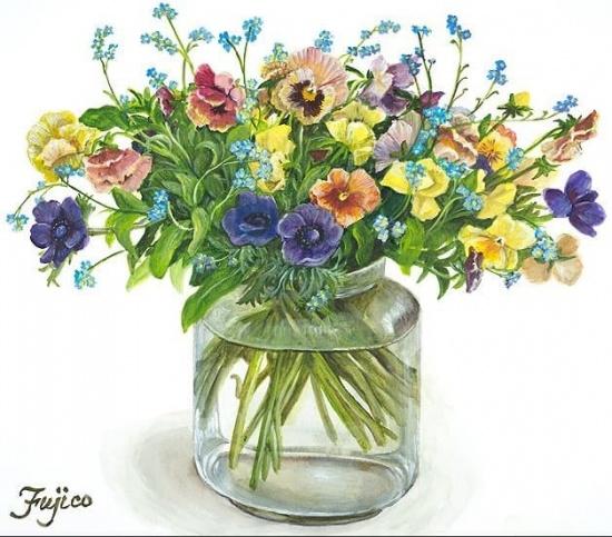художник Hashimoto Fujico (Фуджико Хашимото) картины – 16