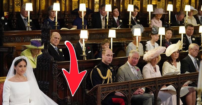 Журналисты выяснили, для кого предназначалось пустое место на свадьбе принца Гарри и Меган Маркл...