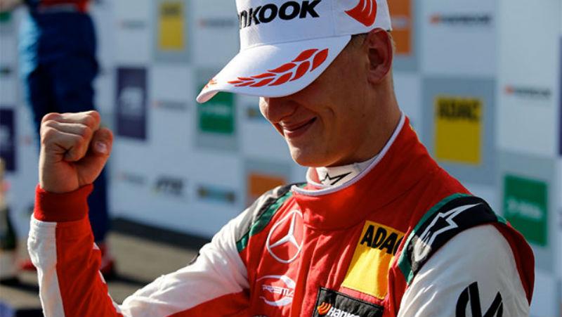Сын Михаэля Шумахера победил на чемпионате Европы «Формулы-3»