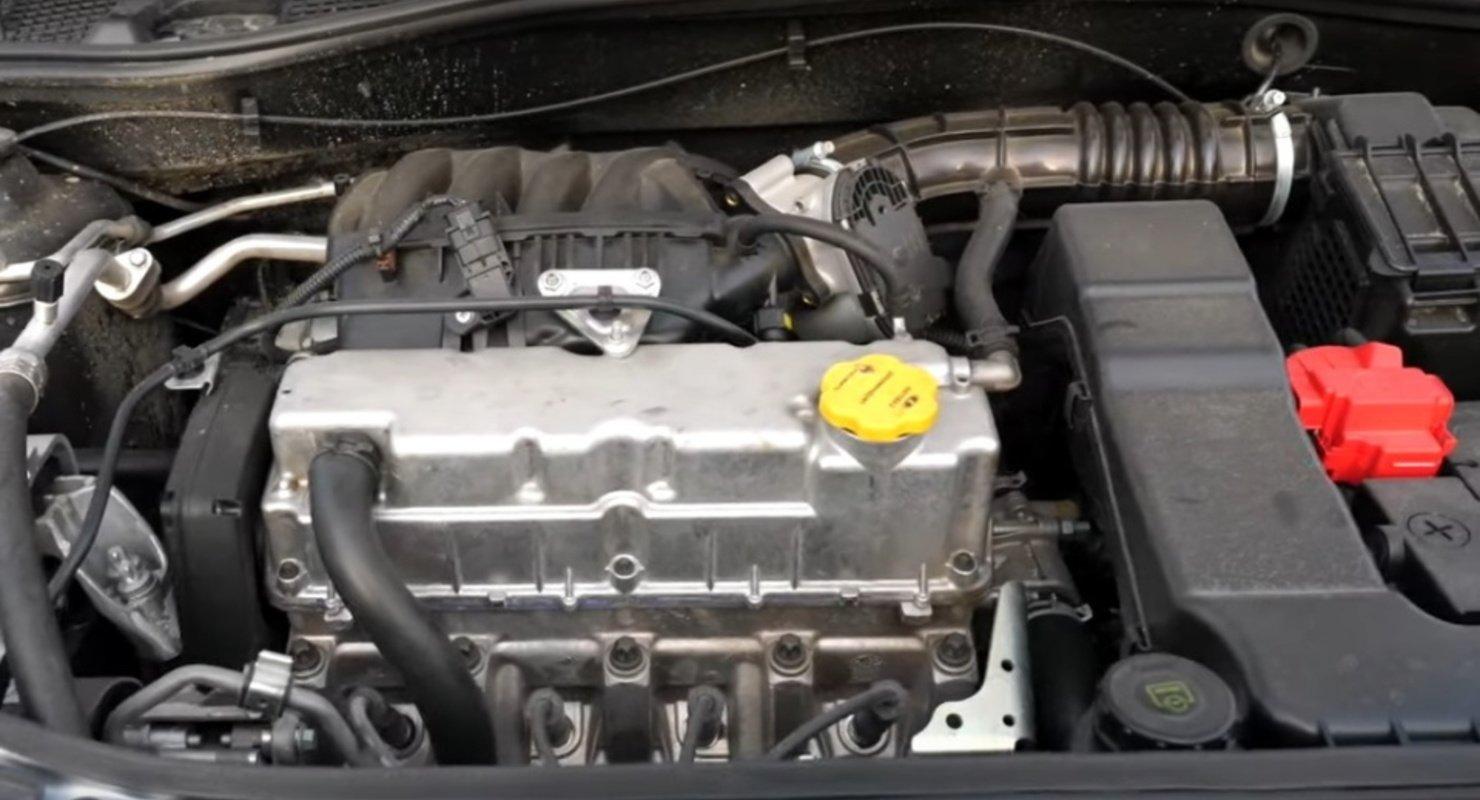Новый восьмиклапанный двигатель ВАЗ-11182 Исследования