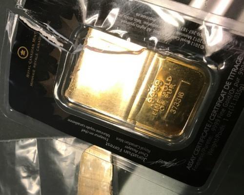Канадские золотые слитки – ф…