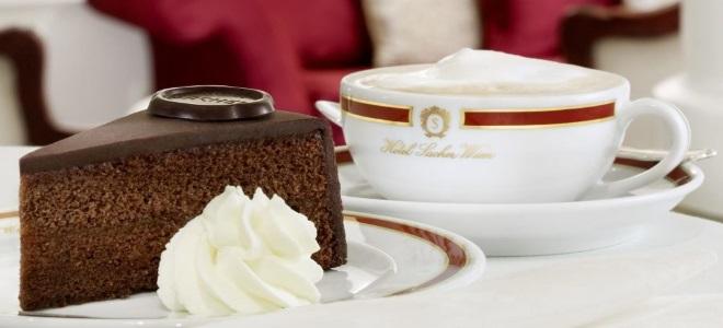 шоколадный бисквит захер