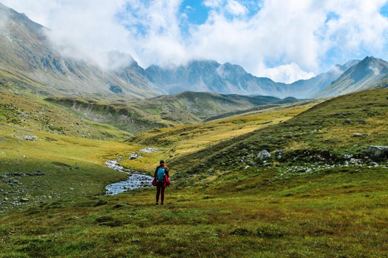 Необычные пейзажи, будто из «Властелина колец», в России