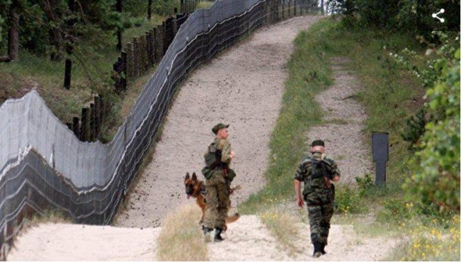 Псковские пограничники задер…