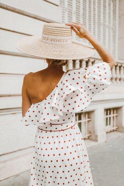 3 главных правила, как носить вещи в горошек и выглядеть элегантно