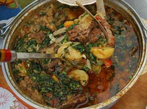 Шулюм из баранины (Казачья кухня)