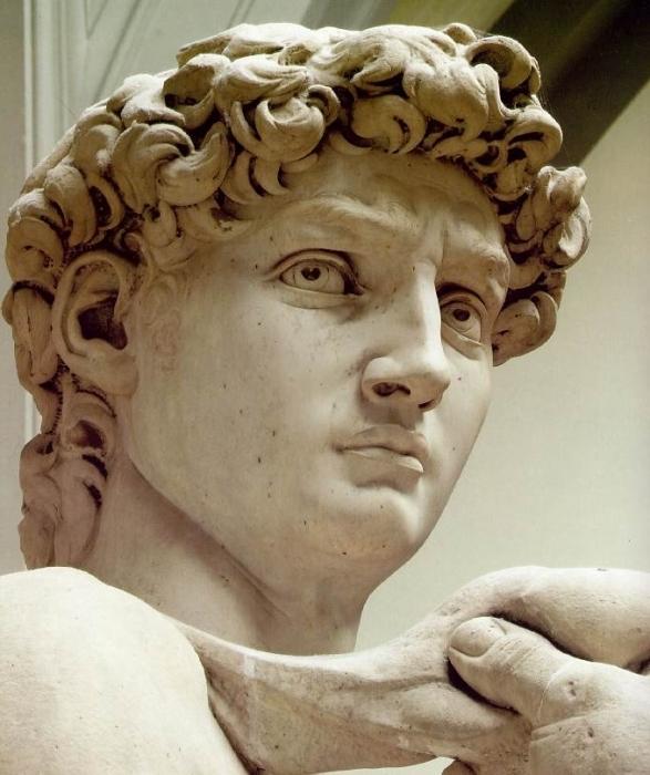 Давид - скульптура Микеланджело