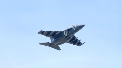 В Приморье упал военный самолет