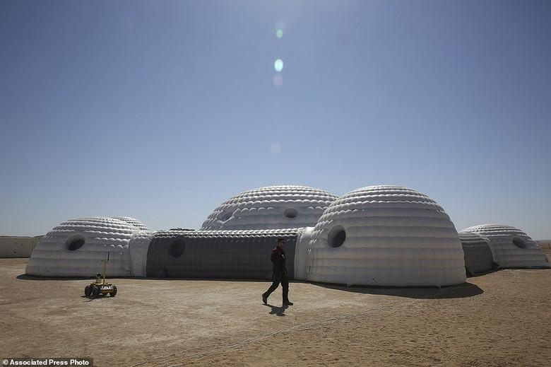 В пустыне Омана симулируют жизнь на Марсе