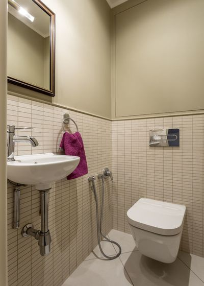 Современный Туалет by Катерина Плотникова