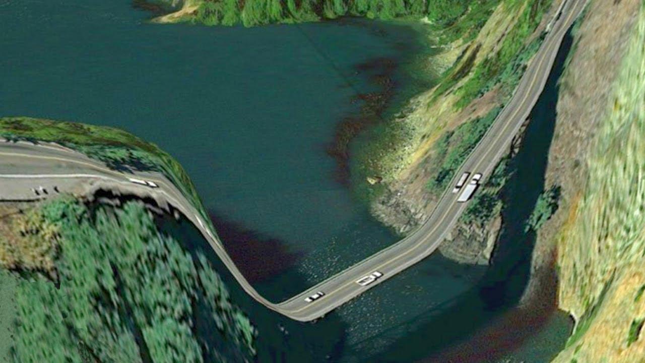 5 самых опасных дорог в мире (ВИДЕО)