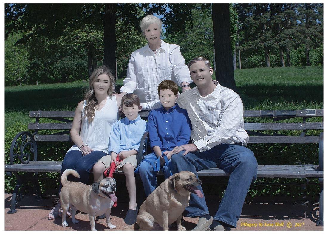 Фотосессия американской семьи поразила интернет