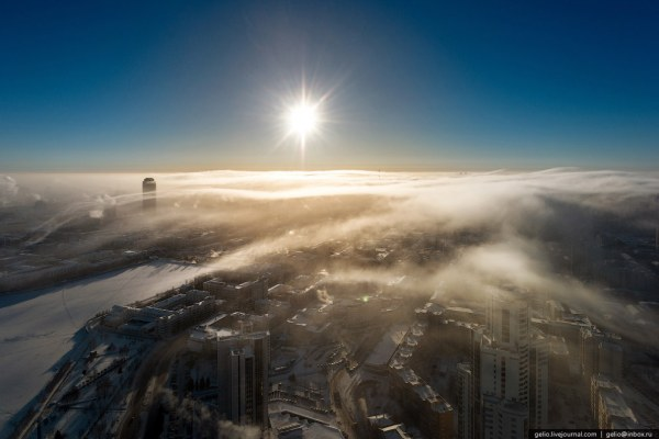 Зимний Екатеринбург (35 фото)