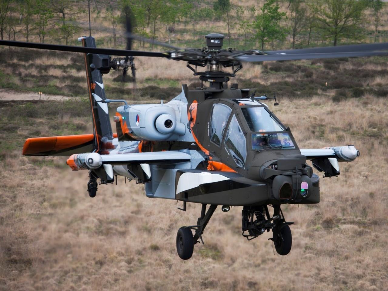 Модернизация голландских вертолетов Apache