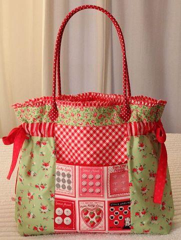 Яркие текстильные сумочки. Будем шить на лето долгими зимними вечерами. handmake,сумки,шитье