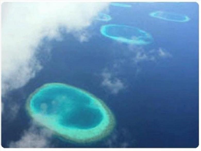 2. Светящиеся и вращающиеся подводные круги загадки, океан, тайны
