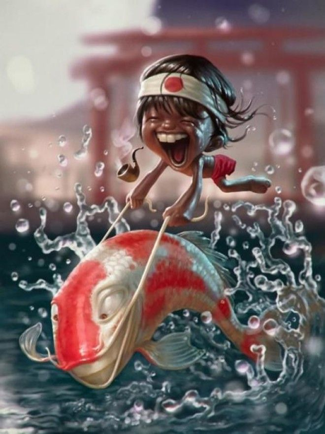 Морское приключение. Автор: Tiago Hoisel.