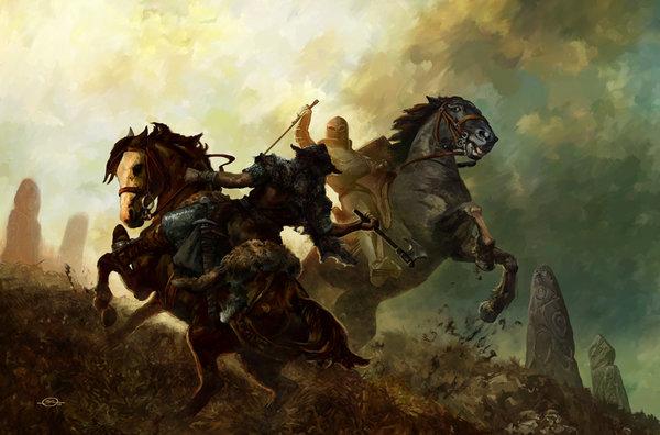 Кем были первые рыцари Европы?