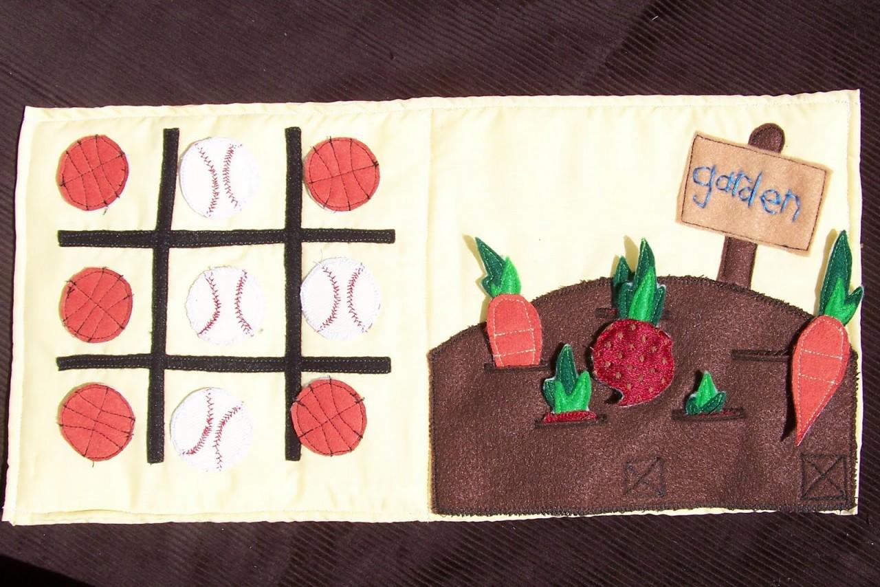 Шьем развивающую текстильную книжку 14