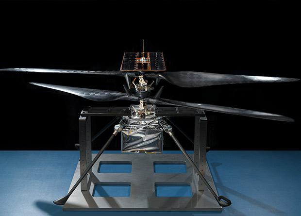 Беспилотник для Марса совершил первый тестовый полет на Земле Авиация