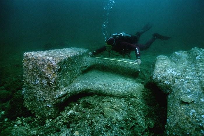 Древний Гераклион — потерянный город под водой